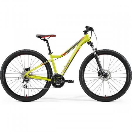 Bicicleta de munte pentru femei Merida Matts 7.20 Lime/Rosu 2021