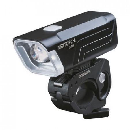 Lanterna fata bicicleta Nextorch B10 420 lm Negru