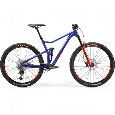 Bicicleta Full suspension unisex Merida One Twenty 600 Bleumarin(Rosu/Albastru) 2021