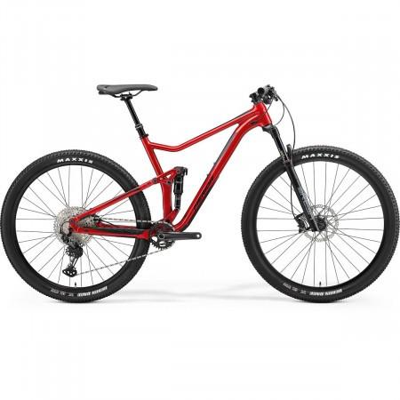 Bicicleta Full Suspension Merida One Twenty RC XT Edition Rosu Lucios/Negru Mat 2021