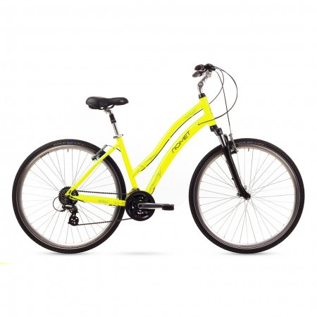 Bicicleta de oras Romet PERLLE Galben 2016