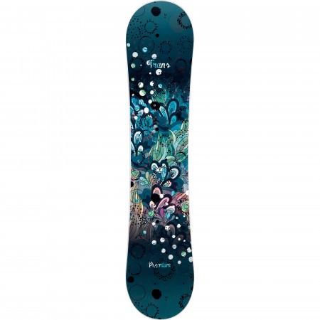 Placa snowboard copii Trans Premium JR Fullrocker Negru 2019