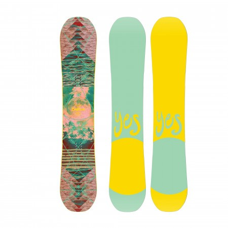Placa snowboard Freestyle pentru femei YES Emoticon 2020