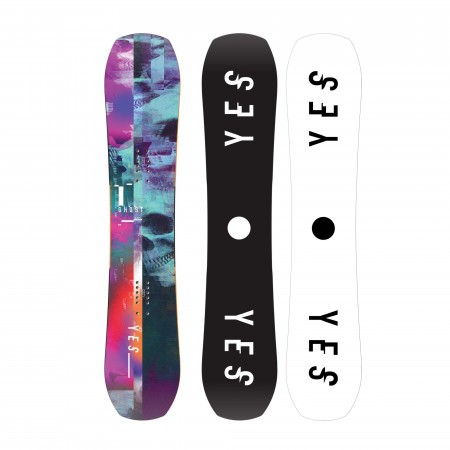 Placa snowboard All Mountain pentru barbati YES Ghost 2020