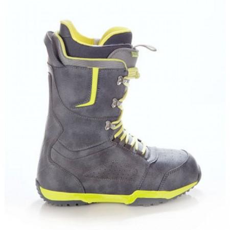 Boots snowboard Raven Team gri/galben