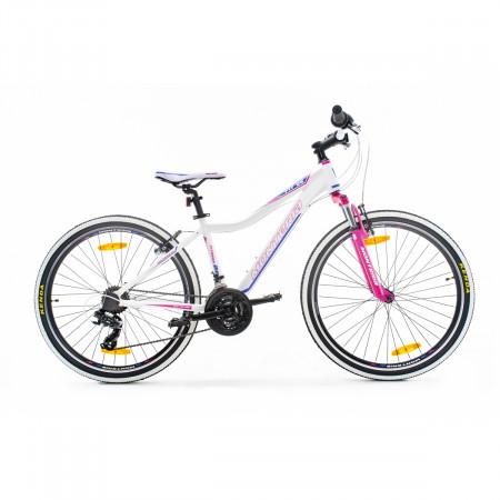 Bicicleta de munte Romet Monteria Fitness 26 Alb/Roz/Violet 2021