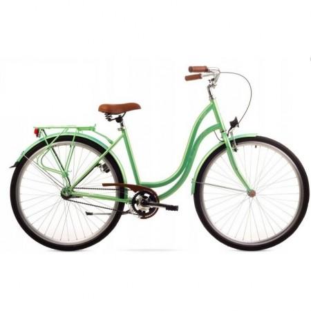 Bicicleta de oras pentru femei Romet Angel 26 1 Verde 2019