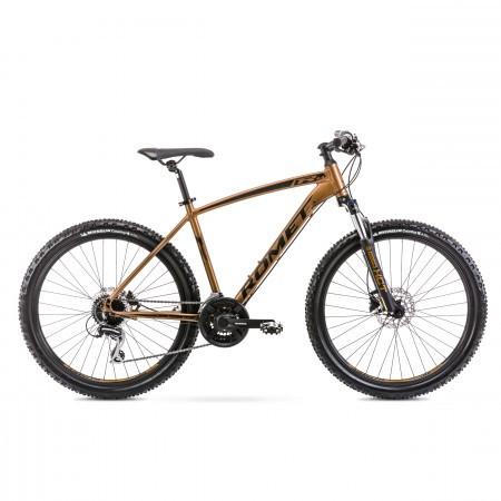 Bicicleta de munte pentru barbati Romet Rambler R6.4 Auriu 2020