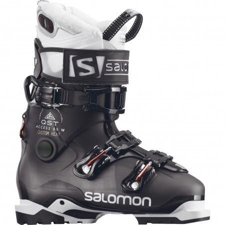 Clapari ski femei Salomon Qst Access Custom Heat Negru