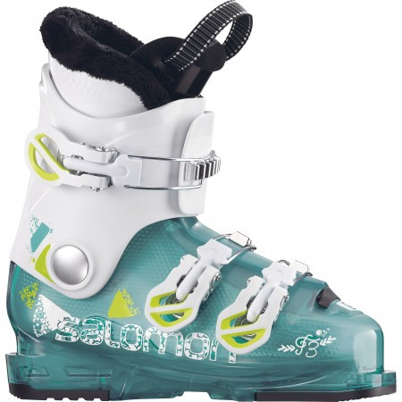 Clapari ski copii Salomon T3 Rt Alb