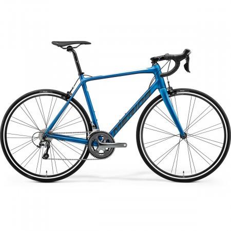 Bicicleta cursiera unisex Merida Scultura Rim 300 Albastru perlat/Gri 2021