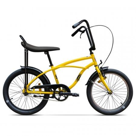 Bicicleta Pegas Strada Mini 1 viteze Galben Bondar