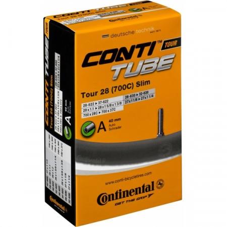 Camera bicicleta Continental Tour 28 Slim A40 28-609->37-642