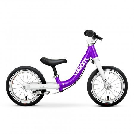 Bicicleta fara pedale pentru copii Woom 1 Classic Violet