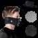 Masca pentru sportivi pentru vreme calda Naroo F1s cu filtrare particule Negru
