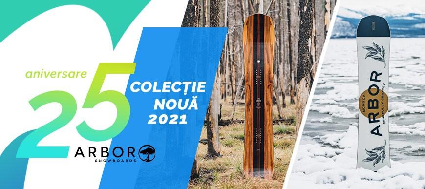 Colectia 2021 Placi snowboard Arbor